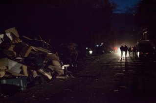 NY: Staten Island Damage from Hurricane Sandy