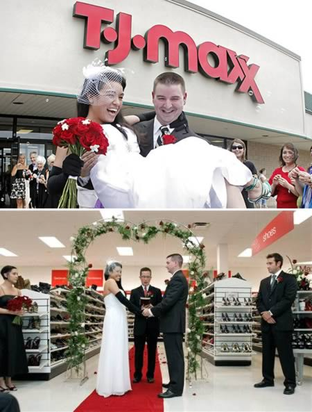 T.J. Maxx Wedding