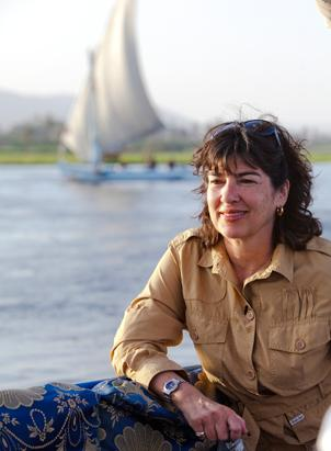 Christiane Amanpour took a felucca boat ride down the Nile to explore the birth of Moses. The Bible says when Pharaoh decreed that all Hebrew first-born babies be killed, Moses' mother floated him down the Nile in a basket to spare his life. The river was crucial to the livelihood, and almost all of the Biblical stories stress the importance of water and the danger of drought and famine