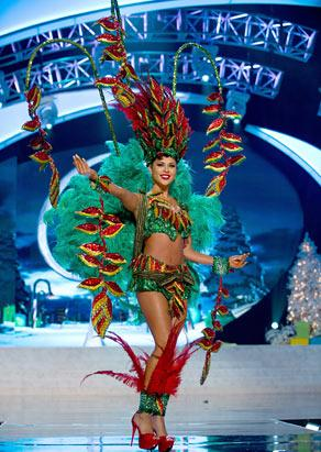 Miss Bolivia 2012, Yessica Mouton