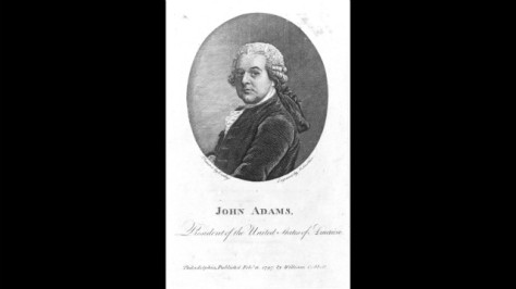 John Adams was inaugurated on March 4, 1797