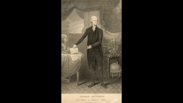 Thomas Jefferson was inaugurated for his first term on March 4, 1801