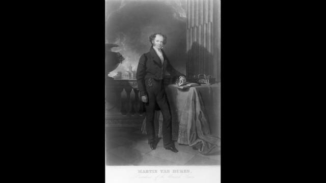 Martin Van Buren was inaugurated on March 4, 1837