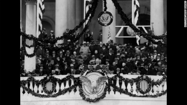 Herbert Hoover's inauguration is held on March 4, 1929