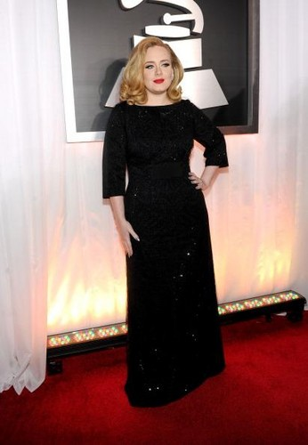 New mommy Adele is known for her incredible musical ability, but we love her curvy figure just as much, if not more! Credit: Getty Images