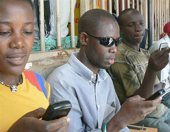 70% of Africans use or have access to a phone. A decade ago less than 1% did